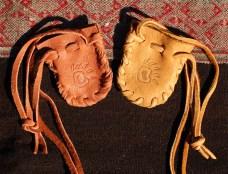 Bear Paw Totem Small Medicine Bags www.reikishamanic.com