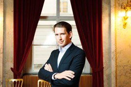 Sebastian Kurz, Austria minister for Foreign Affairs