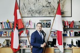 HC Strache, Austria right wing politian