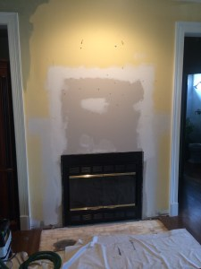 Old Mantle removed