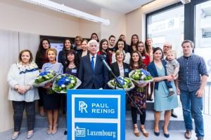 Fotos der offiziellen Eröffnung unseres neuen Büros in Luxemburg