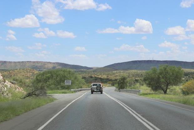 Grüne Wüste in Australien