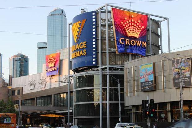 Hier siehst du das Casino in Melbourne in Australien