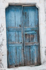 Dør, Pyrgos, Santorini