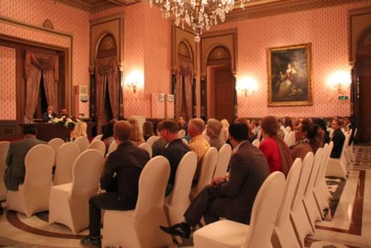 34 nordiske journalister og reisebloggere stilte til pressekonferanse på Hotel Marriot Cairo sist uke.