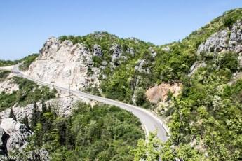 Svingete veier i Montenegro