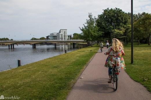 Sykkeltur i Karlstad