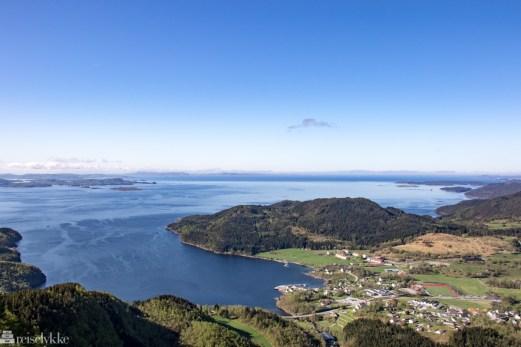Utsikt ved Himakånå_Nedstrandsfjorden