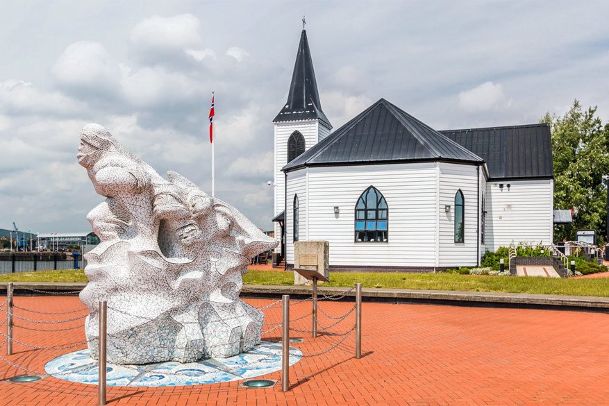 100 jaar Roald Dahl: de Norwegian Church Arts Centre