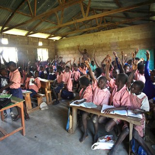 Children in a classroom. Parents in Busia County are accusing school heads of  school heads of charging exorbitant levies to satisfy their own greed at the expense of parents, most of who are widows. [Photo: Courtesy]