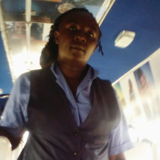 Joyce Wambui is one of the women who have joined the male dominated matatu industry and flourished in it. Picture:Karen Nasmie