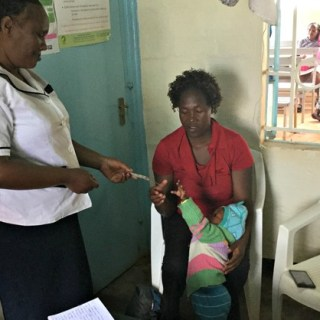 The improved children's TB formulations come in the correct doses for children, are fruit-flavoured and dissolve in water, making them easier for children to take. Picture:Courtesy