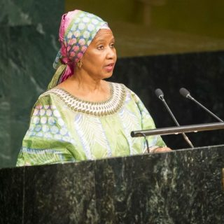 Phumzile Mlambo-Ngcuka, Executive Director UN Women addressing a conference at a past event.Picture:Courtesy