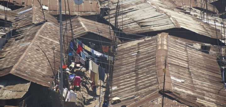 Kibera slum is one of the most populated areas in Kenya.The number will however keep rising if teenage pregnancy and family planning is not taken seriously.Picture:David Mbewa