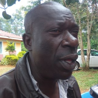Butula sub-county OCPD Stephen Wambua dressing journalists to confirm a rape case. He said that the defilers will be arrested and brought to book.Picture:  Charles Ojiambo