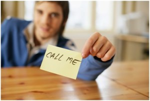 rblackbook - man holding call me sign