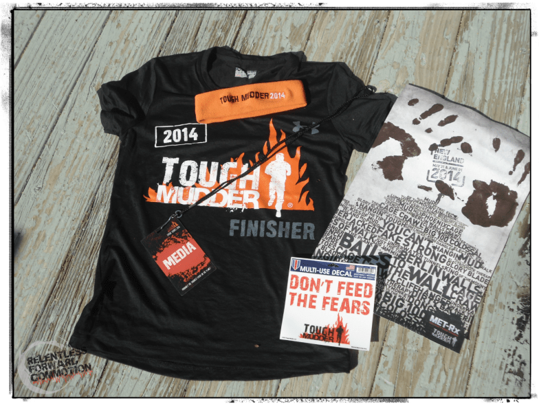 Tough Mudder Shwag