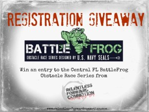 BattleFrog Race Entry Giveaway
