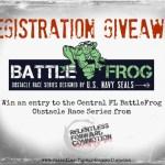 BattleFrog Race Entry Giveaway