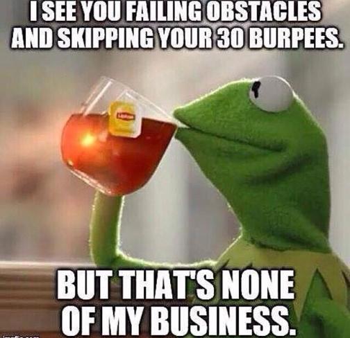 Kermit Burpees