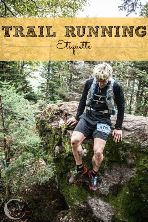 trail running etiquette