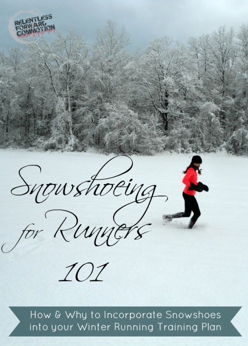 Snowshoeing for Runners pin