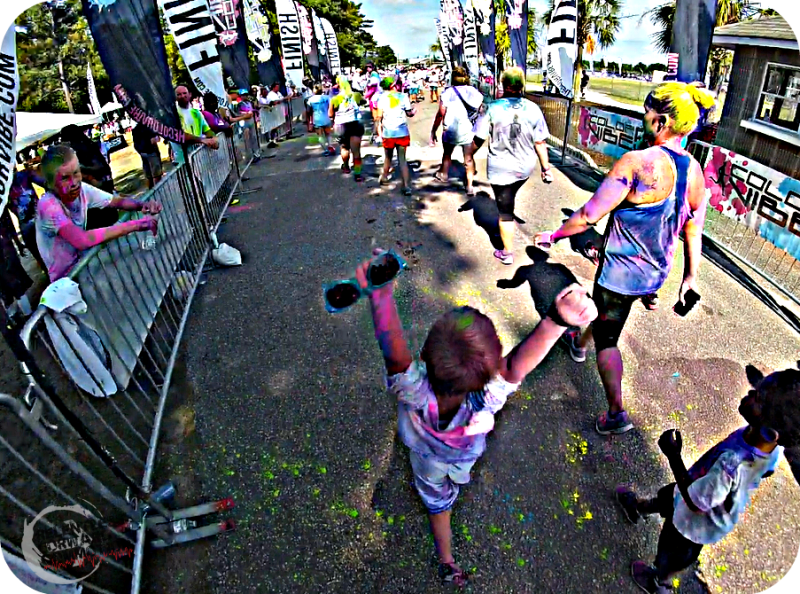 The Color Vibe Finish Line