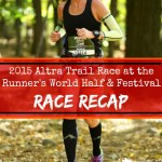Runner's World / Altra Trail Run 2015 Race Recap