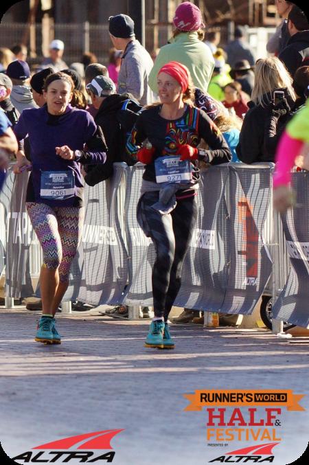 half marathon finishers chute