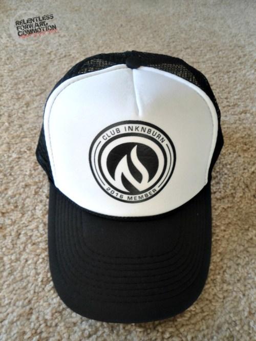 Club INKnBURN trucker hat