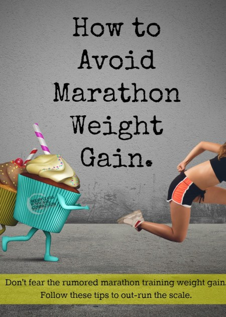How to Avoid Marathon Weight Gain