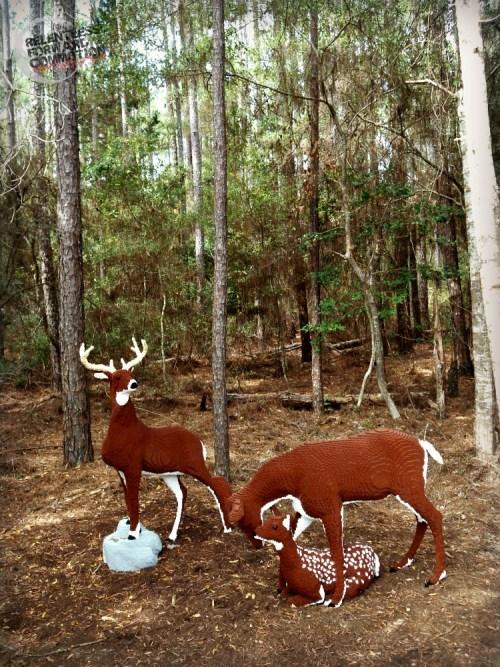 Deer legos Brookgreen Gardens