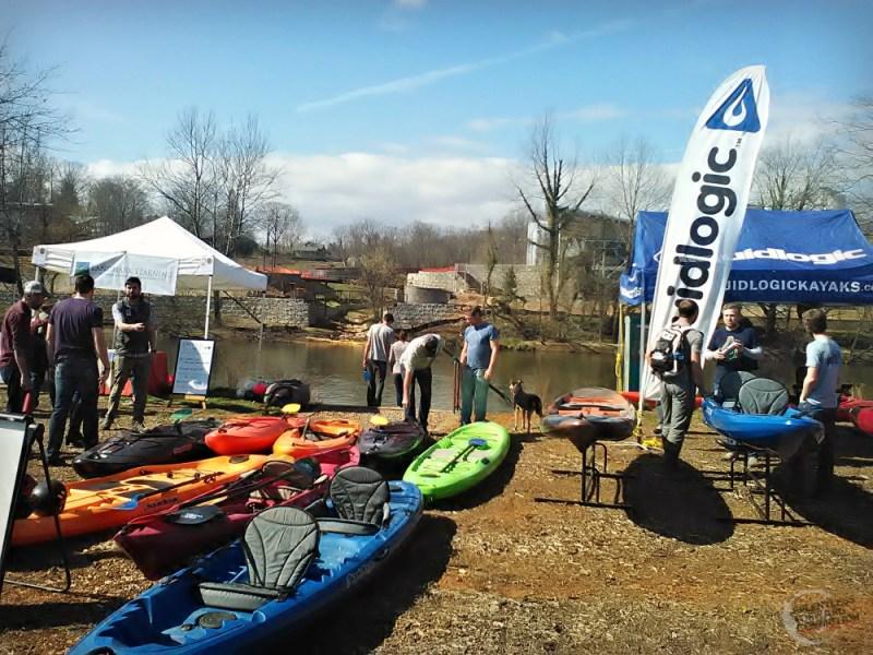 Get in Gear Fest Kayaks