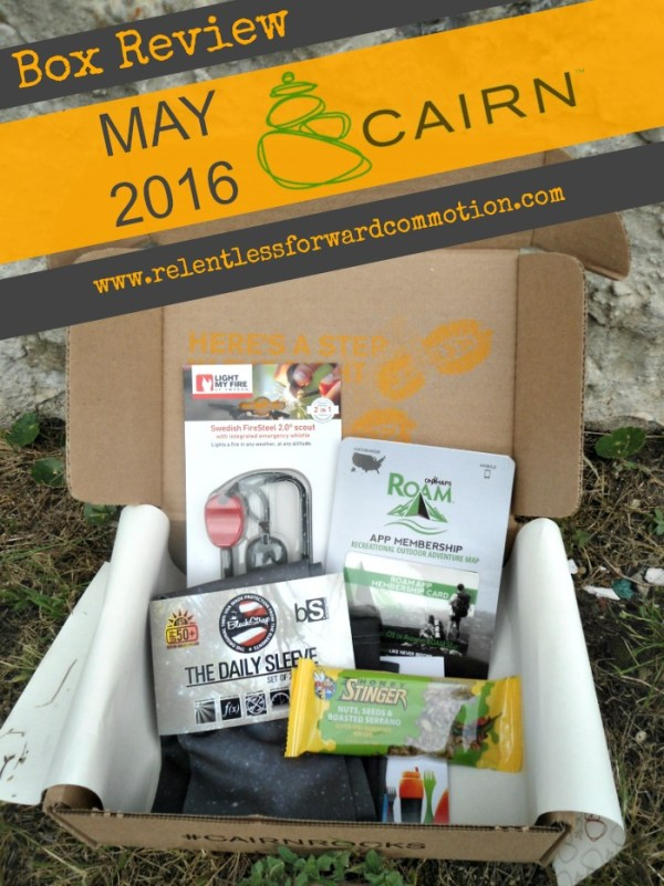 Cairn May 2016 Box Review