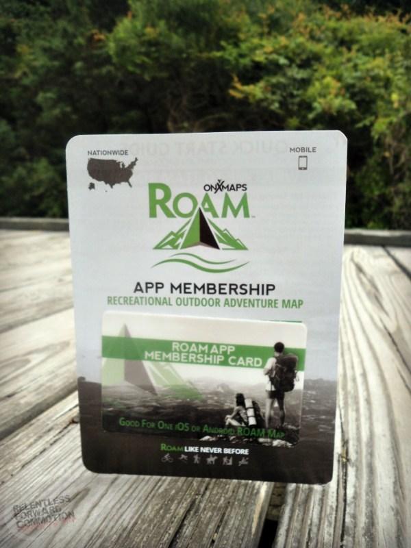 ROAM app