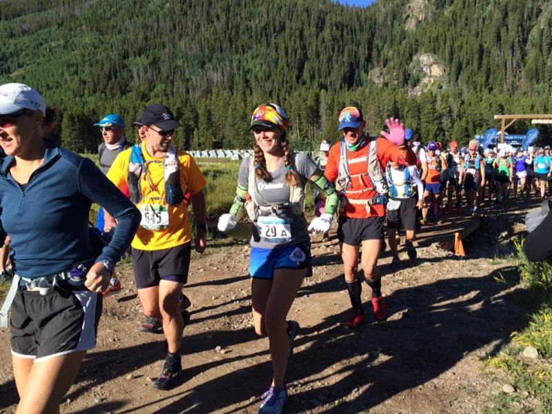 Nova Guides Start TransRockies Run