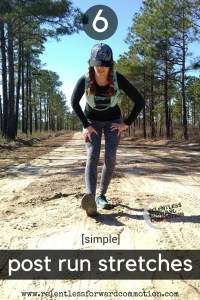 6 Simple Post Run Stretches