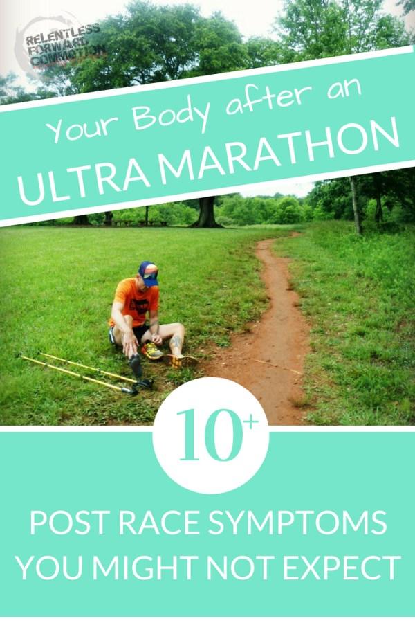 Your Body after an UltraMarathon