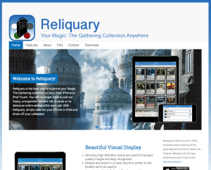 Welcome to the new Reliquaryapp.com