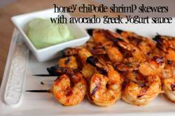 Adorable A Honey Chipotle Grilled Shrimp Skewers Shell How Long To Grill Shrimp On George Foreman Yogurt How Long To Grill Shrimp