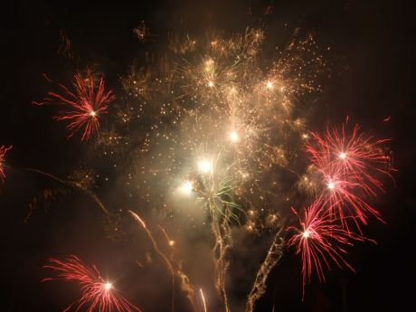 Feu d'artifice. (10)