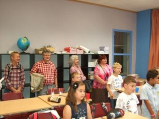 Rentrée scolaire dans le primaire 028