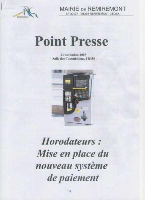 Horodateurs 1