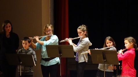 11 Classes de Flutes et Hautbois