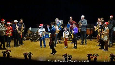 19 Classe de Saxophone