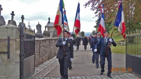 21 les porte-drapeaux