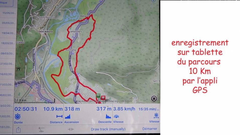 02 Parcours GPS