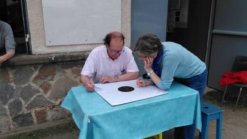 Colette et Francis 4 ième challenge Poudre noire