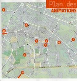 Plan des Manifestations