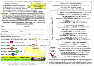 La plaquette programme et tarifs des activités de la saison 2016-2017
